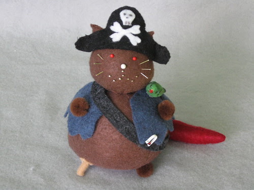 Captain Red-Tail the Fearsome Cat Pirate