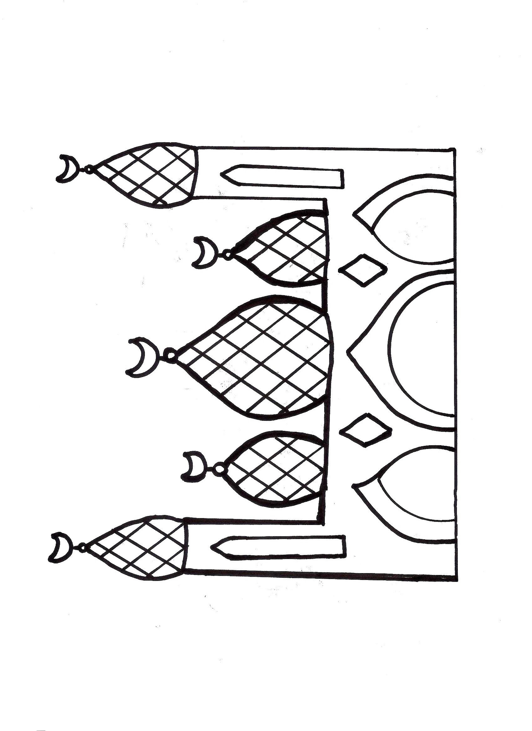 Mosque Drawing For Kids At Getdrawings Com Free For Personal Use