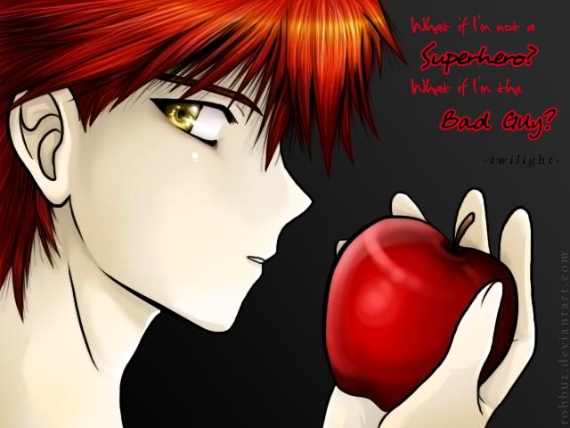 Edward Cullen frase estilo anime