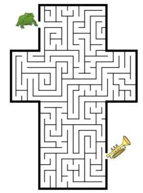 maze easter egg maze letter  maze snowman maze maze