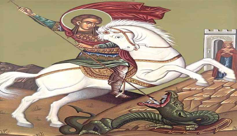 Πολλά ήταν τα θαύματα που έκανε και κάνει ο Άγιος Γεώργιος, ας δούμε λίγα από αυτά που έμειναν στην ιστορία της Εκκλησίας μας.