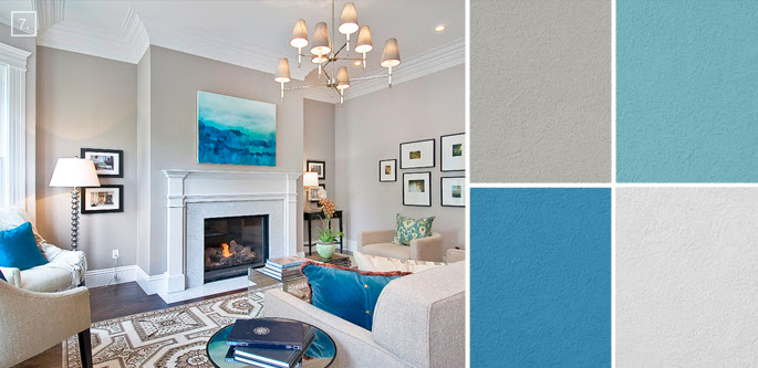 Ideas for Living Room Colors: Paint Palettes and Color ...