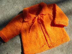 meu 1º casaquinho de tricô