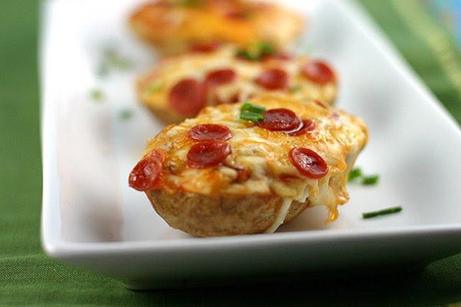пицца из картофеля