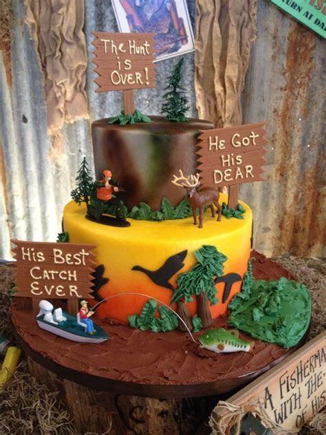 Hunting Cake:   groom's cakes   Groomsman cake, Hunting