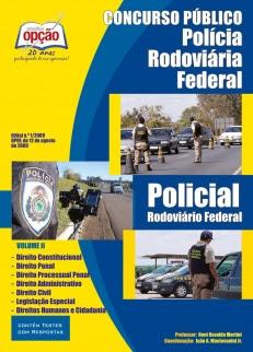 Polícia Rodoviária Federal (Policial Rodoviário)-POLICIAL RODOVIÁRIO FEDERAL - VOLUME II-POLICIAL RODOVIÁRIO FEDERAL - VOLUME I-POLICIAL RODOVIÁRIO FEDERAL - JOGO COMPLETO