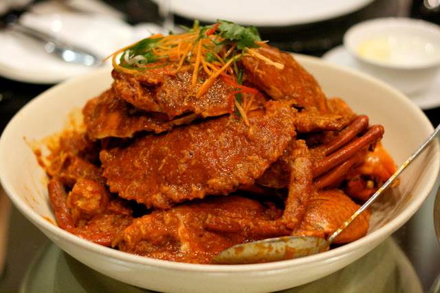 Wok-fried Sri Lankan Chili Crab