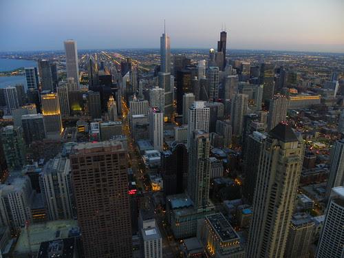 5.17.2009 Chicago Sunset, John Hancock 94th floor Observatory Kodak Z980 test (25)
