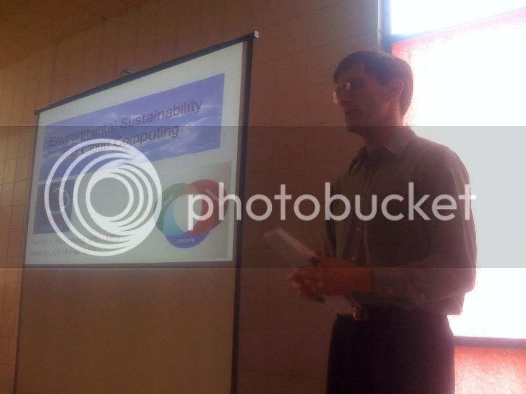 Thomas Loxley Rosenberg, Opening Presentation Slide