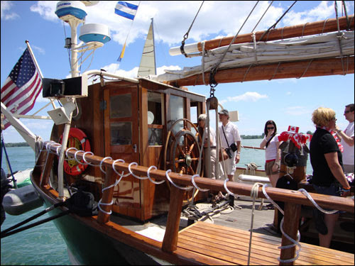 Tall Ship, Harbourfront, Canada Day 2010