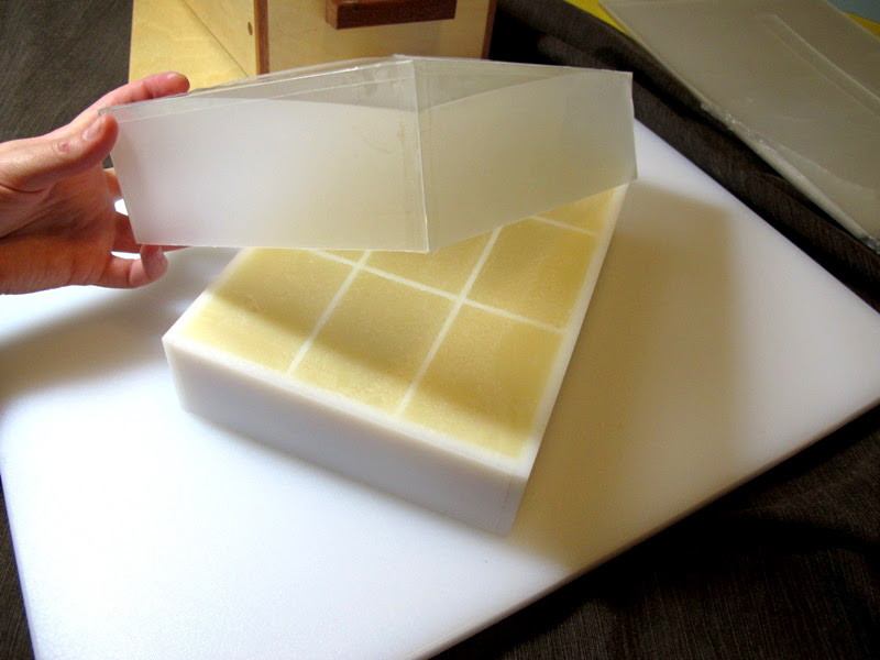 Diy Reusable Liners For Soap Slab Mold Lovin Soap Studio