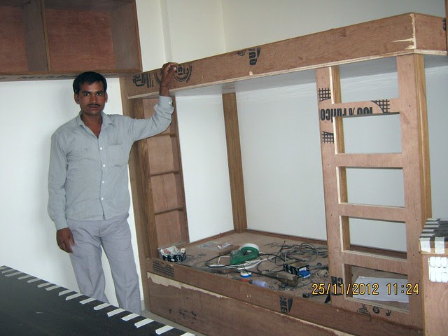 Vastushodh Projects' UrbanGram Kondhawe Dhawade Pune 411023 - Fittings & Furniture Works in One Flat