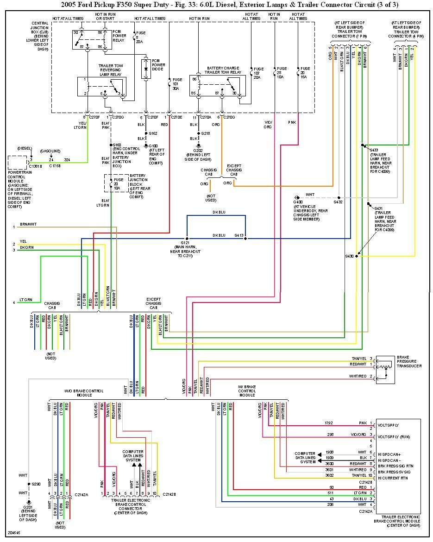 29 2005 Ford F250 Trailer Brake Controller Wiring Diagram