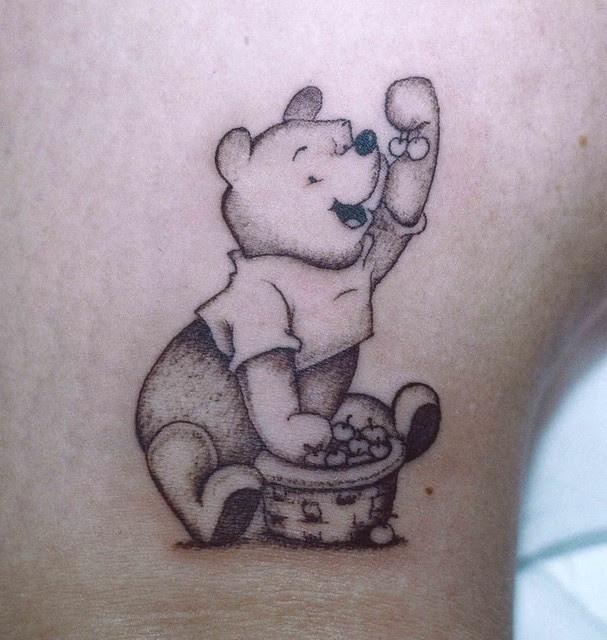 Orsetto Winnie The Pooh - Americo Tattoo L'Aquila