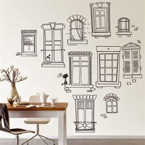 dreams  wishes wall drawing decor  kids rooms
