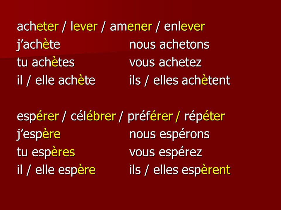Αποτέλεσμα εικόνας για verbe preferer au present de l'indicatif