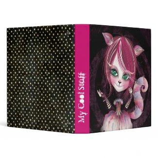 Kitty Cat Binder binder