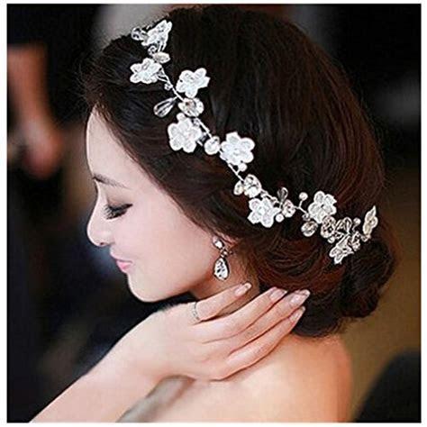 Crystal Diamond Bride Bridal Wedding Hair Head Band Wear