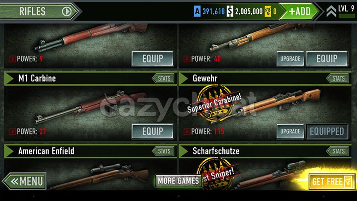 FRONTLINE COMMANDO: D-DAY v3.0.4 Cheats