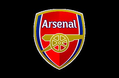 Arsenal logo mockup
