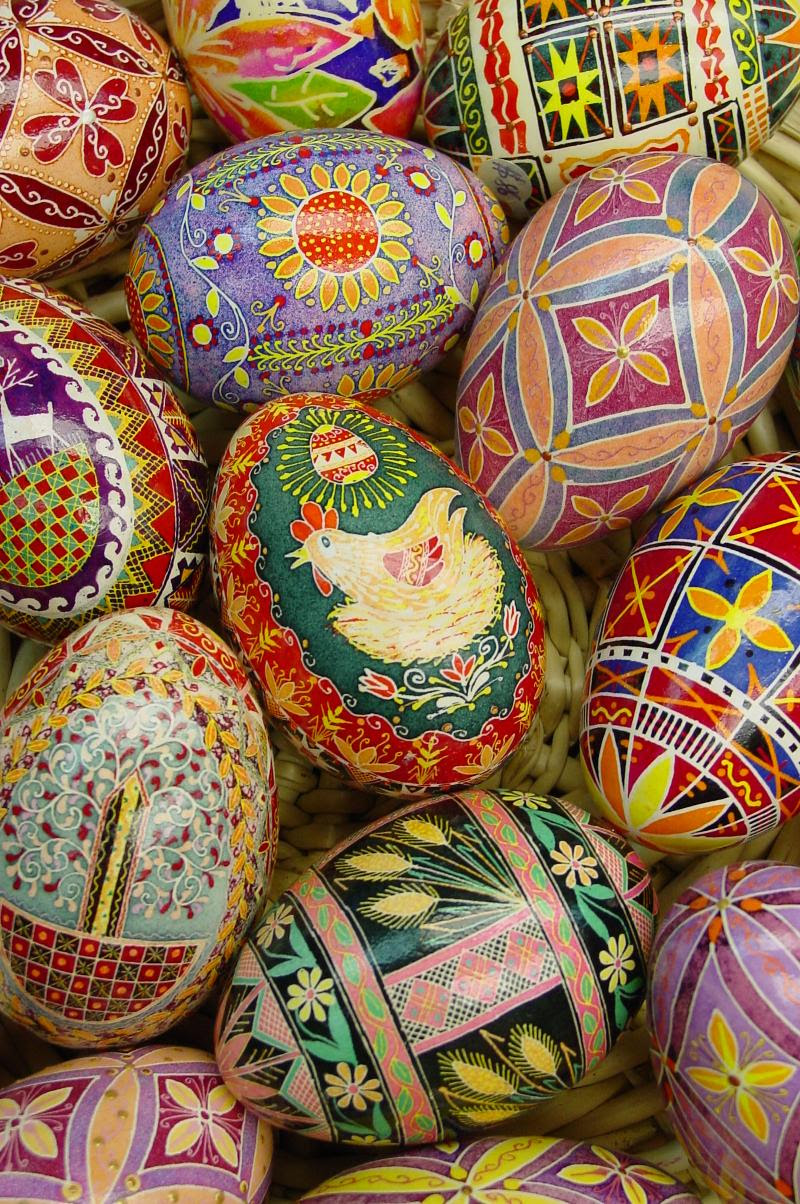 Ukrainian Eggs by  Olga
