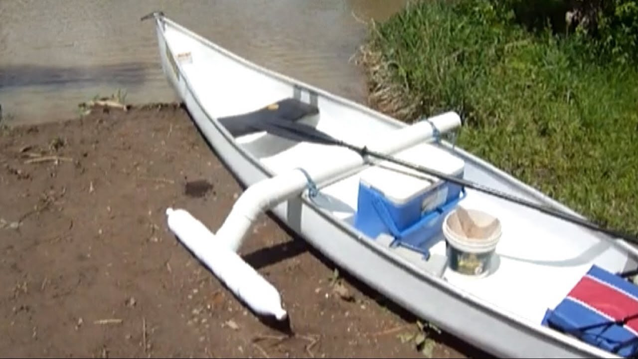 Yak: How to make homemade canoe outriggers