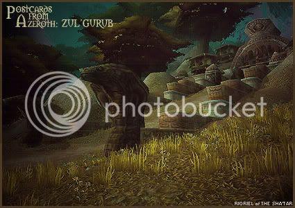 Postcards of Azeroth: Zul'Gurub, by Rioriel Ail'thera
