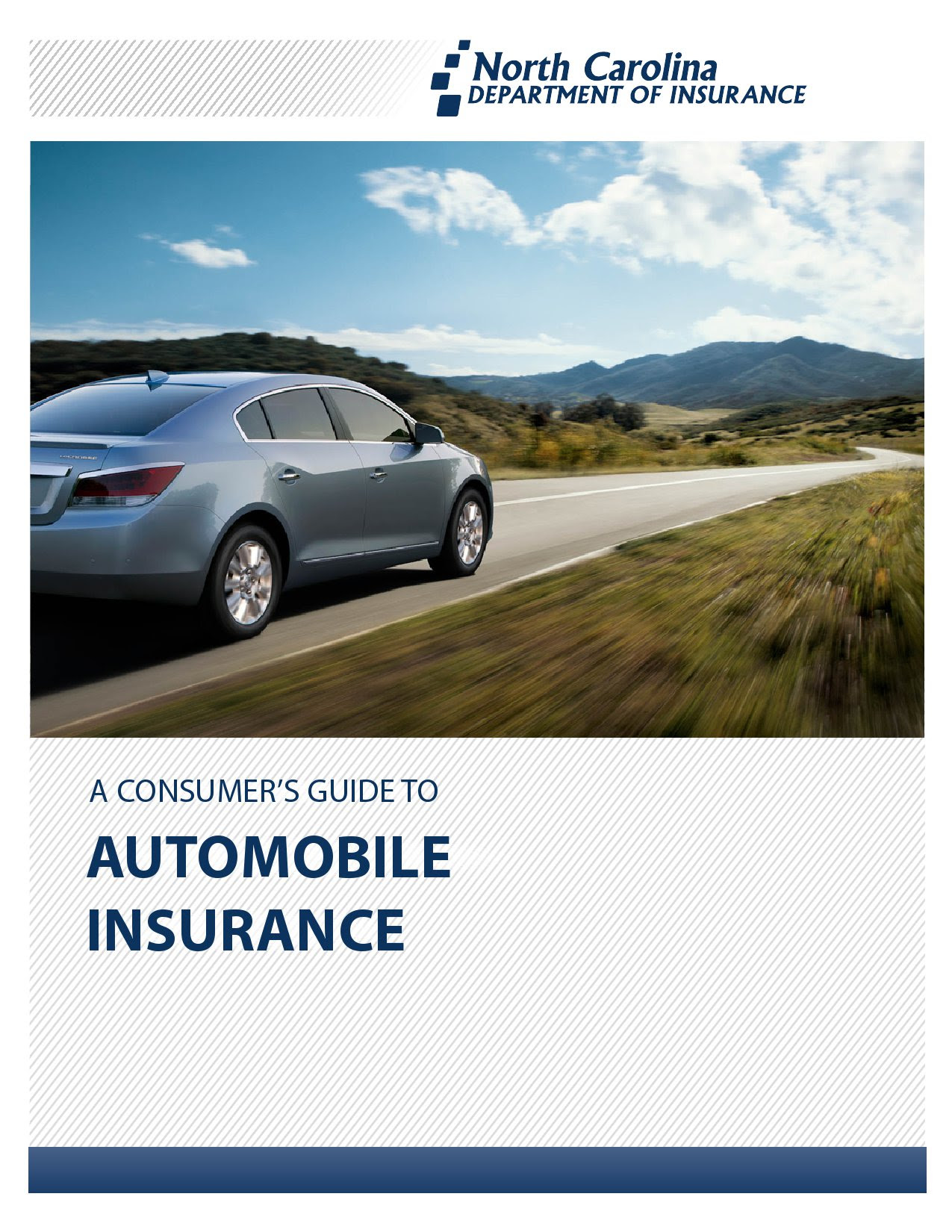Consumer Guide to Automobile Insurance north carolina 2016
