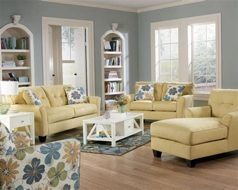 kylee goldenrod buttonless tufted  cushion sofa