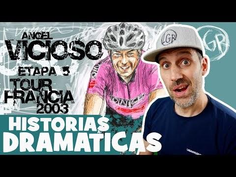 TDF2003. 'HISTORIAS DRAMÁTICAS' PETACCHI suma 3 y VICIOSO se cae. Tour de Francia 2003. Etapa 5 - Alfonso Blanco