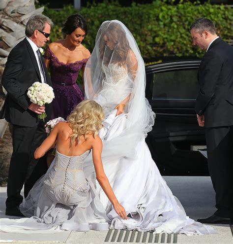 Rebecca Twigley in Chris Judd & Rebecca Twigley Wed In