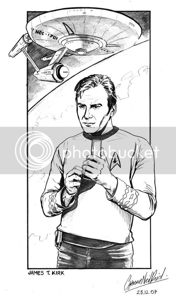 Graeme Neil Reid,Illustration,Star Trek