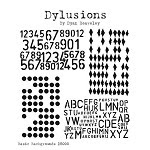 Dylusions-Rubber Stamp-Basic Backgrounds