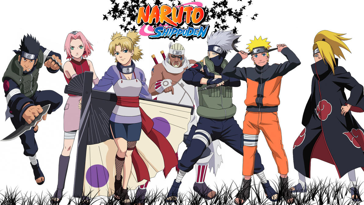 Image result for Naruto (and Shippuden)