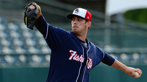 Sean Nolin is 3-0 with a 1.19 ERA in six Eastern League starts over two years.