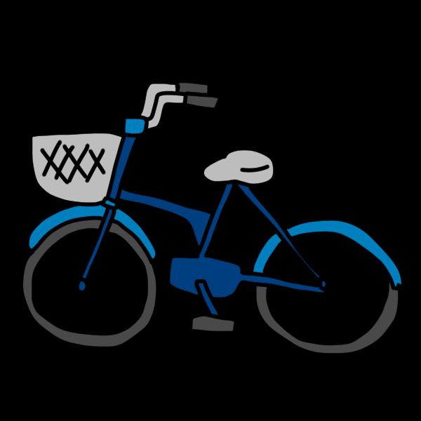 自転車のイラスト かわいいフリー素材が無料のイラストレイン