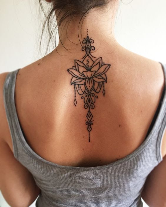 Tatuajes En La Espalda Para Mujeres 14 Beauty And Fashion Ideas