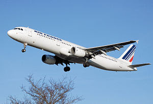 English: Air France Airbus A321-200 (F-GTAL) l...