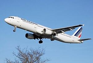 English: Air France Airbus A321-200 (F-GTAL) l...
