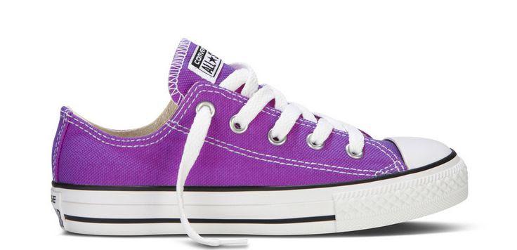 Converse sneakers #radiantorchid