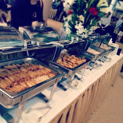Tea reception! :) #food  (Taken with Instagram)