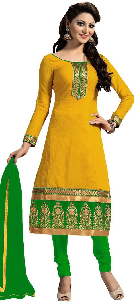 451188: Yellow color family stitched Party Wear Salwar