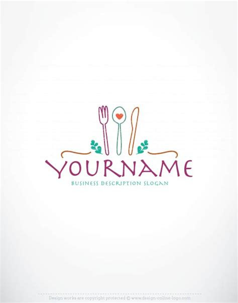 exclusive company logos catering logo design