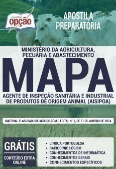Apostila MAPA AISIPOA - Agente de Inspeção Sanitária