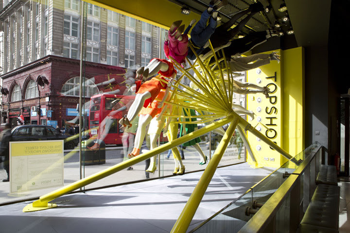 TOPSHOP windows NEON architects studioXAG London TOPSHOP windows by NEON architects & studioXAG, London