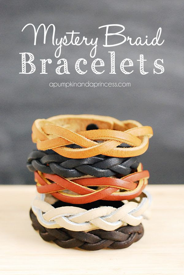 Mystery Braid Bracelet Tutorial