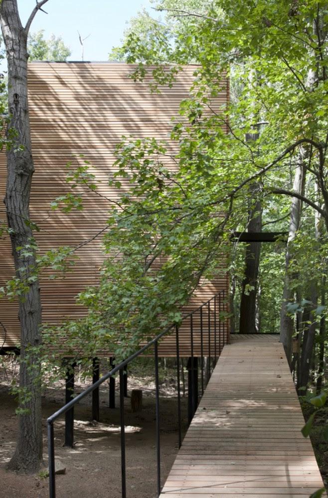 Espacio T - Steven Holl Architects, Arquitectura, diseño, casas