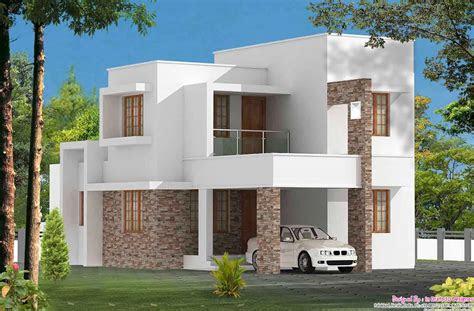 simple  sqft  bhk villa design