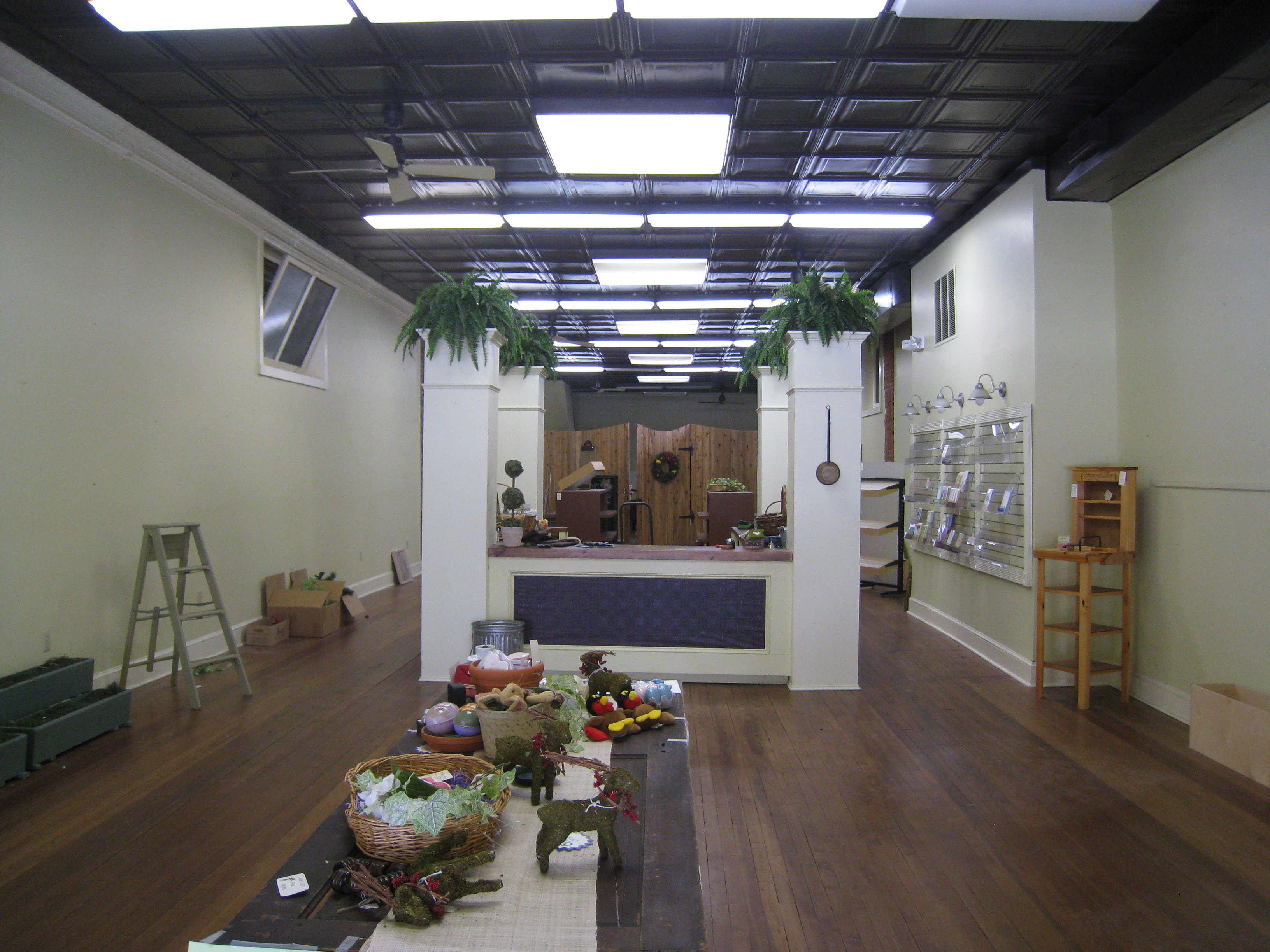 Fulpers, Nevius Brothers, Blaher's, Hallmark, and The Potting Shed