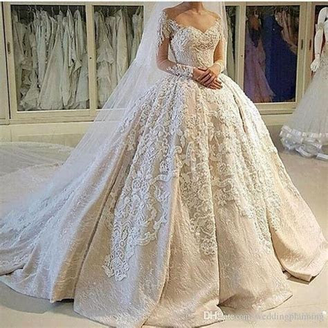 USA Canada Vintage Ball Gown Wedding Dresses 2k17 Illusion